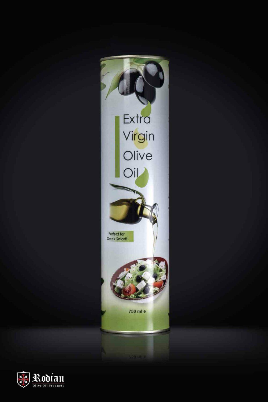 EVOO Extra Virgin Oil Tin 750ml