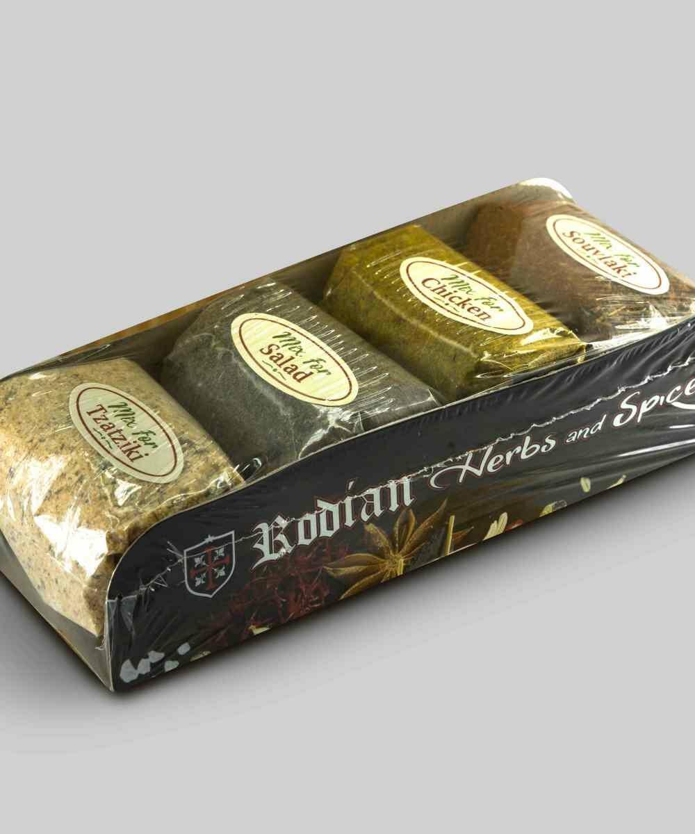 4 spices set Rodian