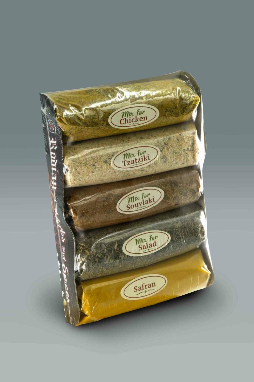 5 spices set Rodian