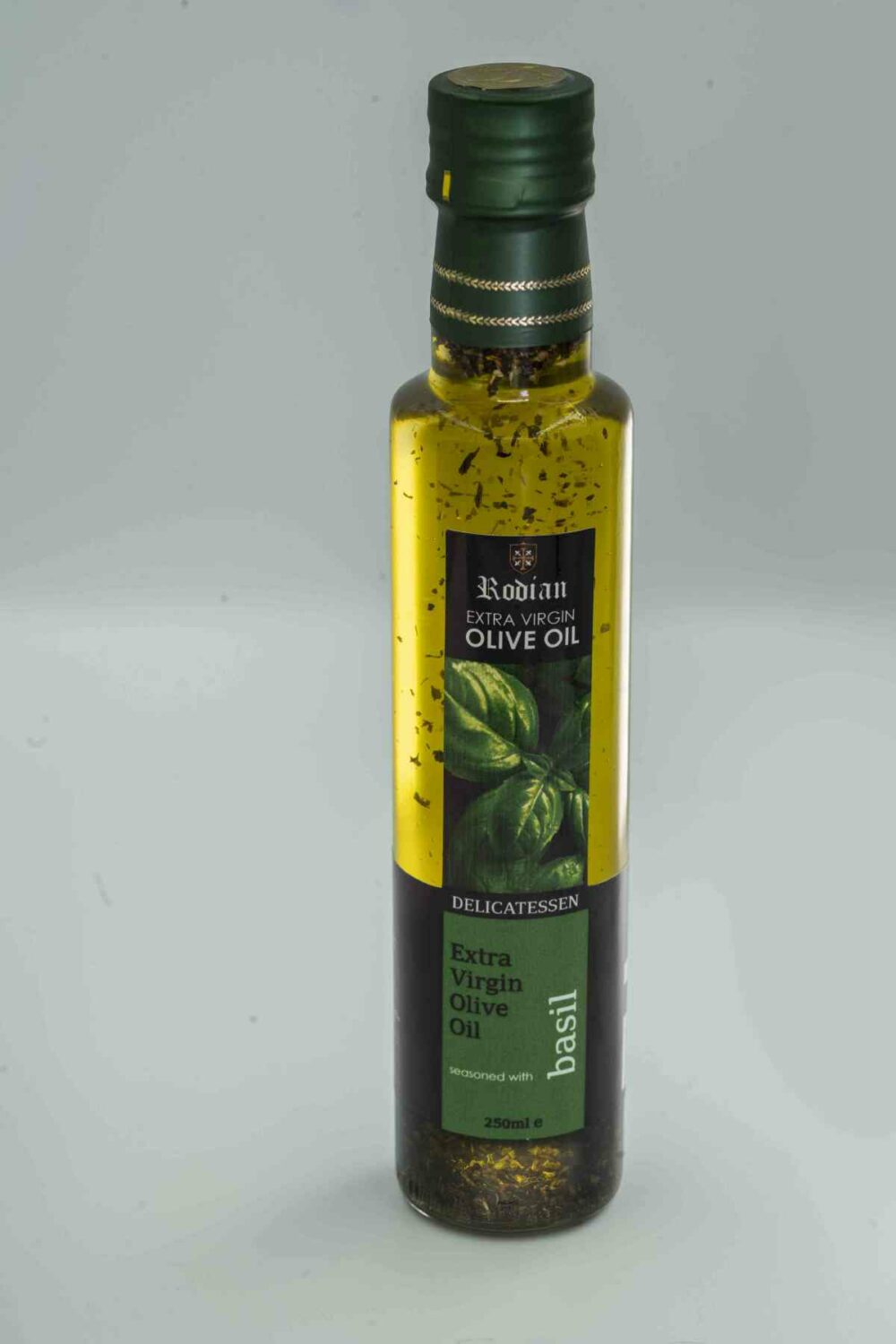 DELI basil olive oil 250 ml white