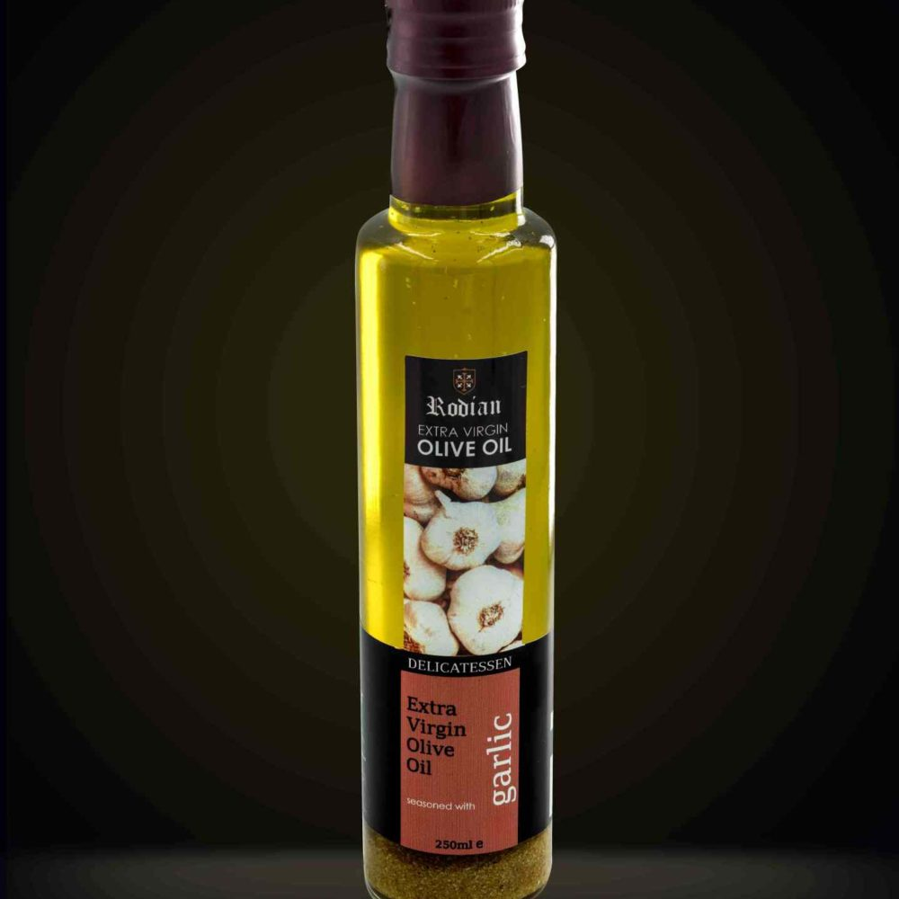 DELI garlic olive oil black 250ml