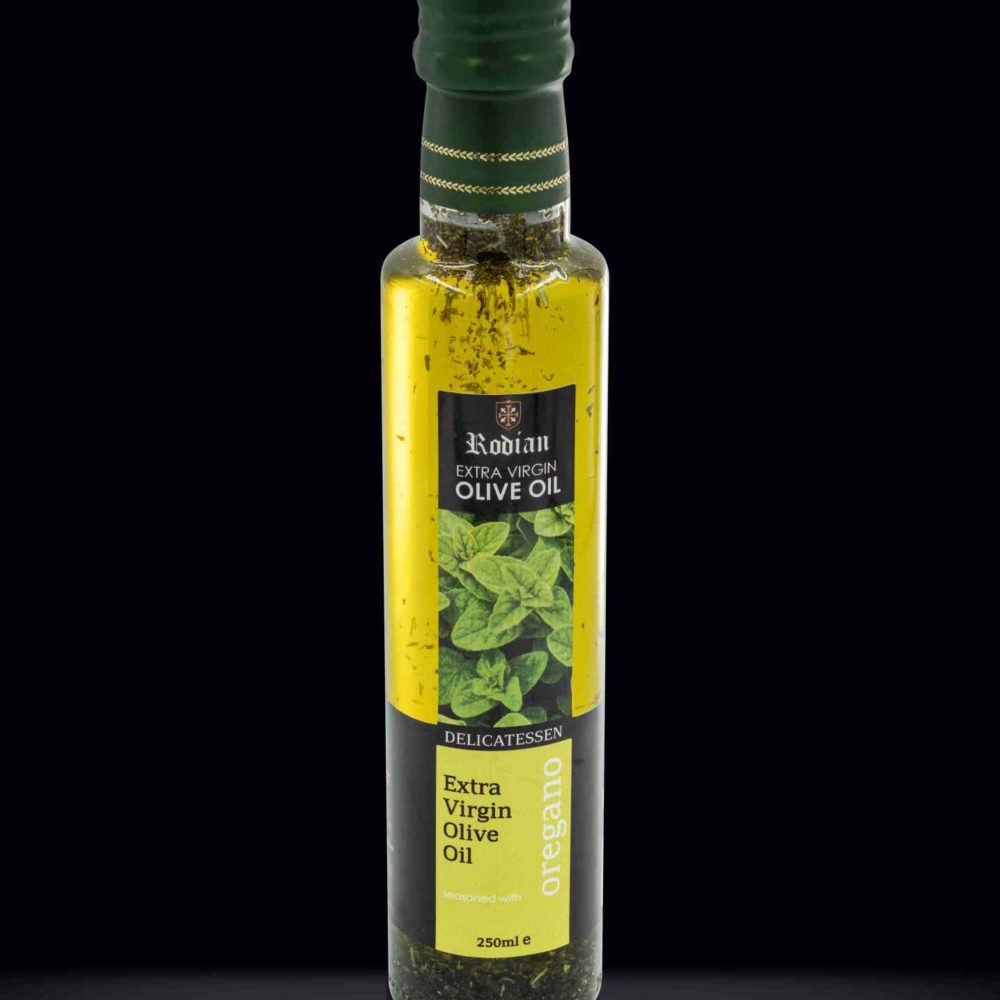 DELI oregano olive oil black 250ml