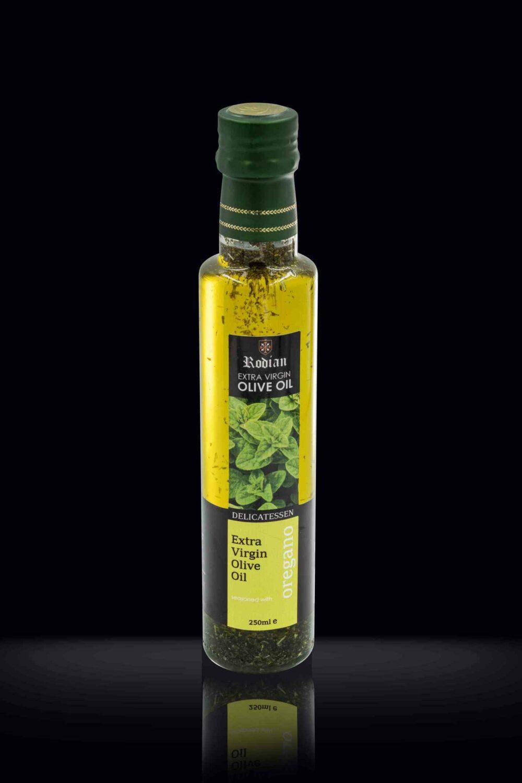 DELI oregano olive oil black 250ml