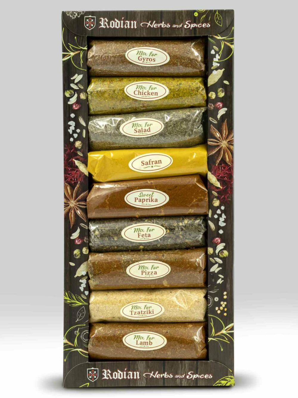 9 spices set Rodian