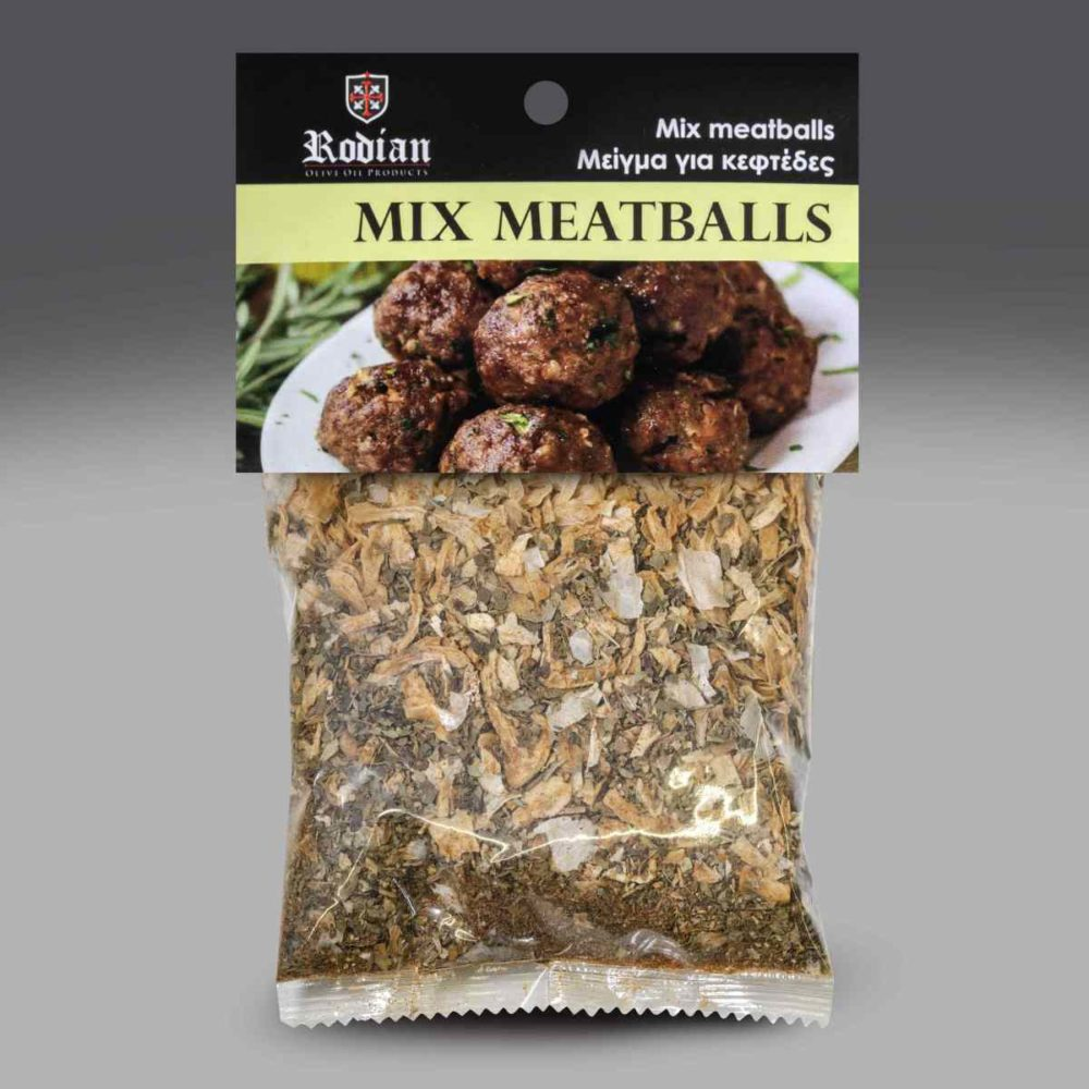 mix meatballs