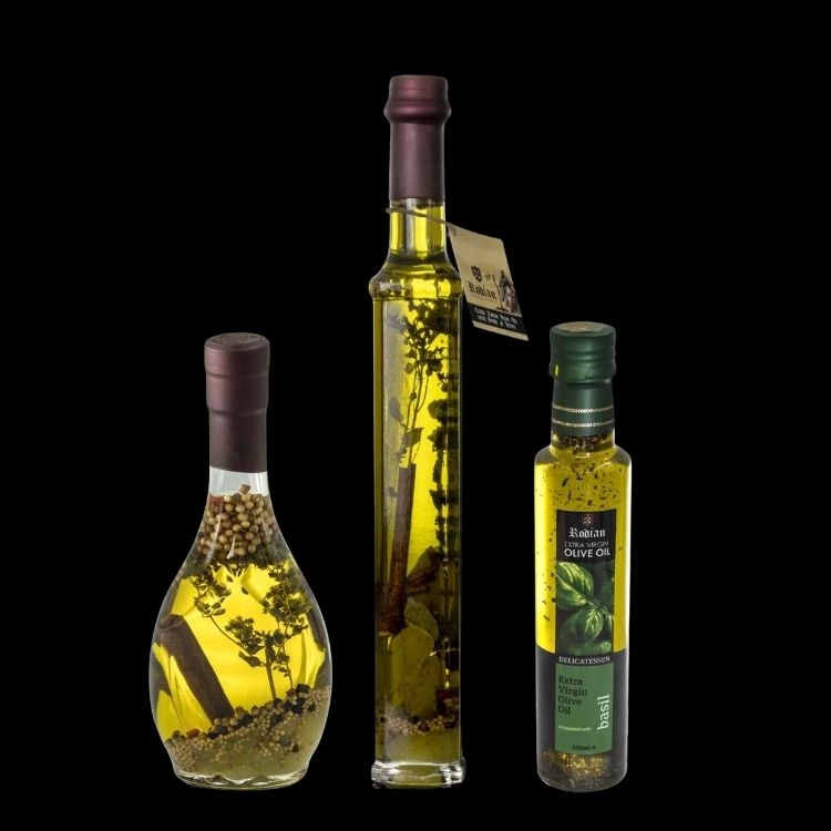 Delicatessen - Flavoured Olive Oil from Rhodes island