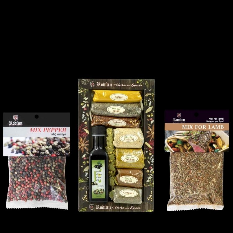 Spices & Herbs from Rhodes island