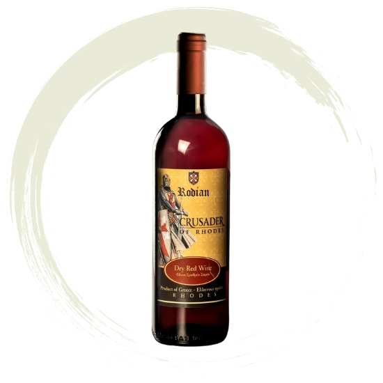 Winery Rodian Wines red from Rodos